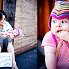 San Diego Family Session : Rachel & Avi : Downtown La Jolla : Breakfast At Harry's