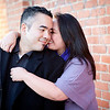 San Diego Lifestyle & Wedding Photography : Stephanie Torres & Nicholas DeTorres : San Diego Little Italy : Engagement Session